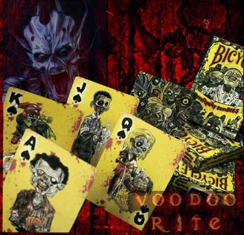 EVERYDAY ZOMBIES - BICYCLE-CARDS (KARTEN MIT ZOMBIEMOTIVEN)