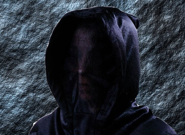 RITUALMASKE FACELESS BLACK