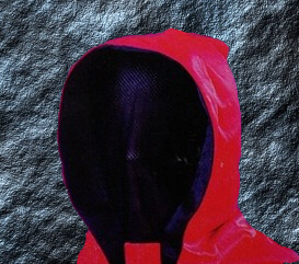RITUALMASKE FACELESS RED
