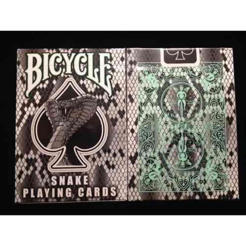 SNAKE - VOODOO CARDS (ORIGINAL BICYCLE) IM SCHLANGEN-DESIGN!! OUT OF PRINT!!!