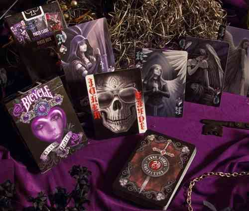 ANNE STOKES - DARK HEARTS (ORIGINAL BICYCLE) OUT OF PRINT!!!