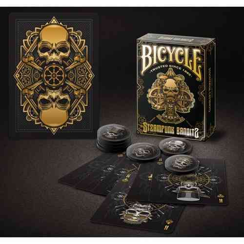 STEAMPUNK BANDITS (ORIGINAL BICYCLE) OUT OF PRINT!!!