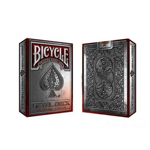 METAL CARDS (ORIGINAL BICYCLE) EXKLUSIVES DESIGN! OUT OF PRINT!