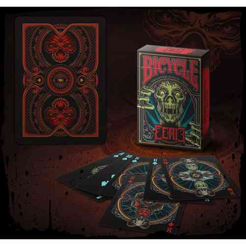 EERIE DECK (RED) (ORIGINAL BICYCLE) OUT OF PRINT!!!
