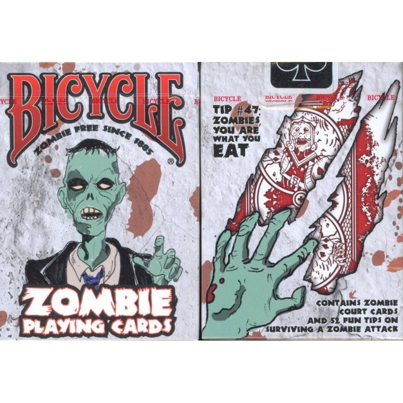 zombie deck original bicycle voodoo rite world of magic