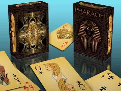 PHARAO LIMITED EDITION (FOIL DECK) by Collectable Playing Cards (RARE GLANZ-VERSION!)