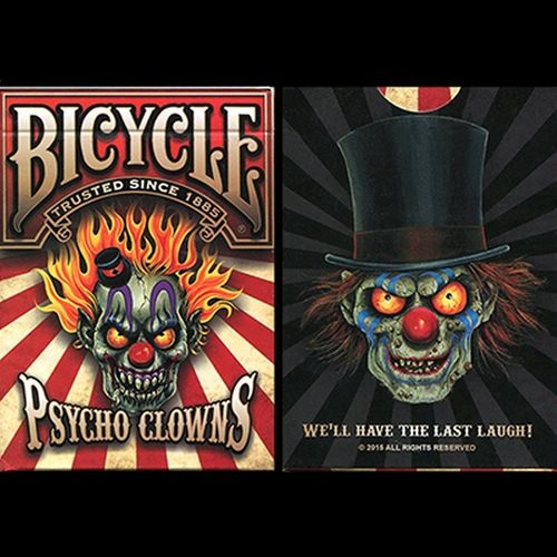 PSYCHO CLOWNS (ORIGINAL BICYCLE) OUT OF PRINT!!!