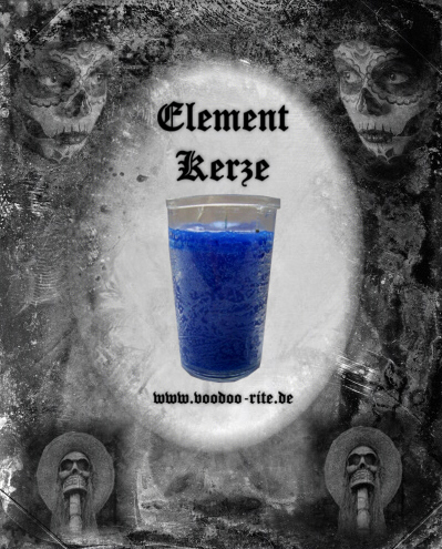 ELEMENT-GLASKERZE WASSER (BLAU)