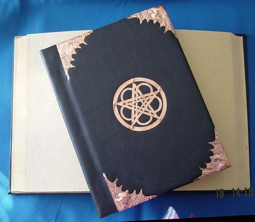 BOOK OF SHADOWS - LEATHER BINDING