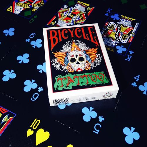 TATTOO DECK (ORIGINAL BICYCLE) OUT OF PRINT!!!
