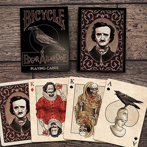 EDGAR ALLAN POE (ORIGINAL BICYCLE) OUT OF PRINT!!!