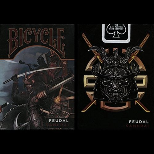 FEUDAL SAMURAI - megarar! (ORIGINAL BICYCLE) OUT OF PRINT!!!