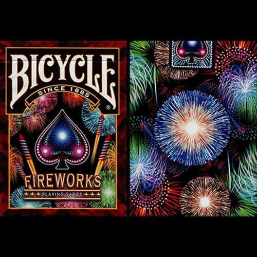 FIREWORKS (ORIGINAL BICYCLE) OUT OF PRINT!!!