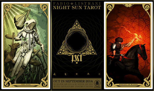 TAROT-SET - NIGHT OF THE SUN TAROT (FABIO LISTRANI)