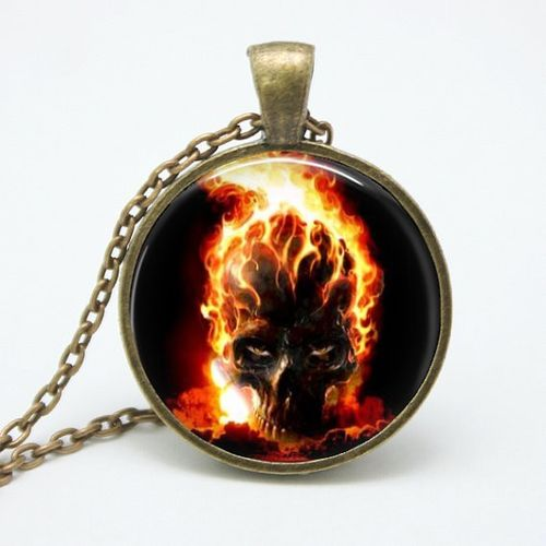 KETTE - GHOST RIDER FLAMES
